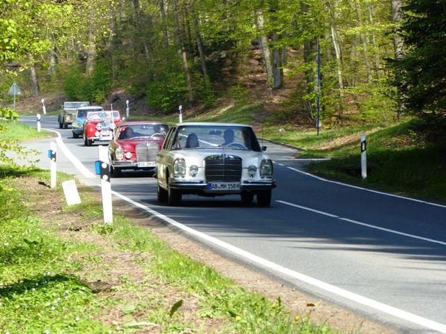 Frühlingsausfahrt der Oldtimerfreunde Aschaffenburg 2017